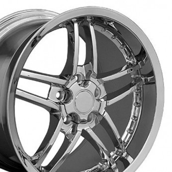 Chevrolet Corvette C6 Z06 Replica Wheel Chrome