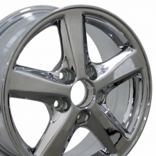 "15"" Fits Honda - Accord Wheel - Chrome 15x6"
