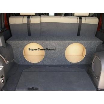 4dr Jeep UNLIMITED SUB BOX Subwoofer Enclosure NEW