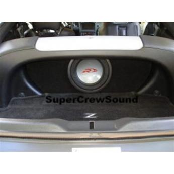Nissan 350z Subwoofer Enclosure 03 08 Front Hatch Area W