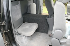 1995 ford f250 extended cab subwoofer box