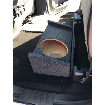 Ford F150 Bed Size >> Ford F-150 Supercrew Cab 09-18 UpFire Single Subwoofer Box