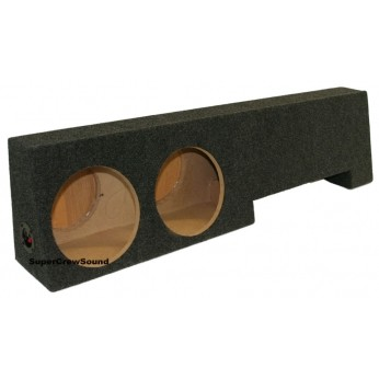 Ford F 150 Supercrew Cab 01 03 Dual Bts Subwoofer Box