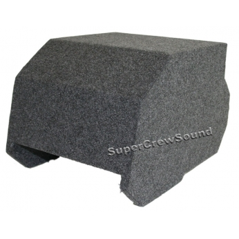Ford F 250 F 350 Supercrew Cab 08 12 Console Subwoofer Box