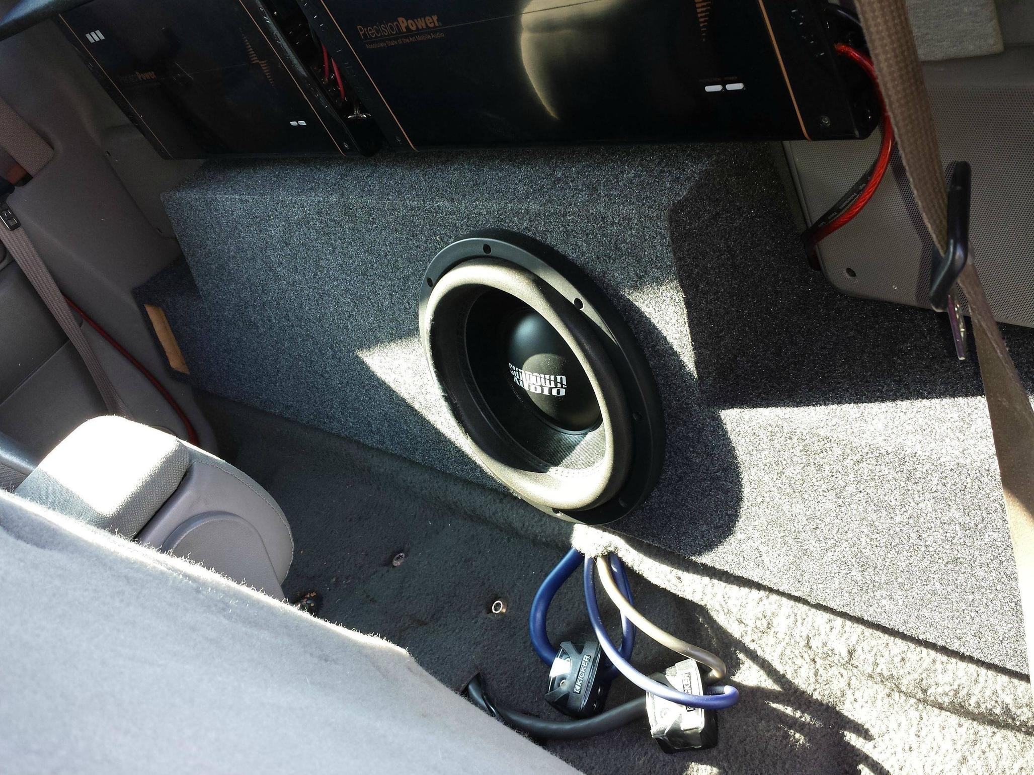 Ford ranger standard cab 99 12 ported subwoofer box