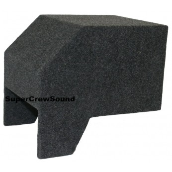 ford ranger extended cab single subwoofer box
